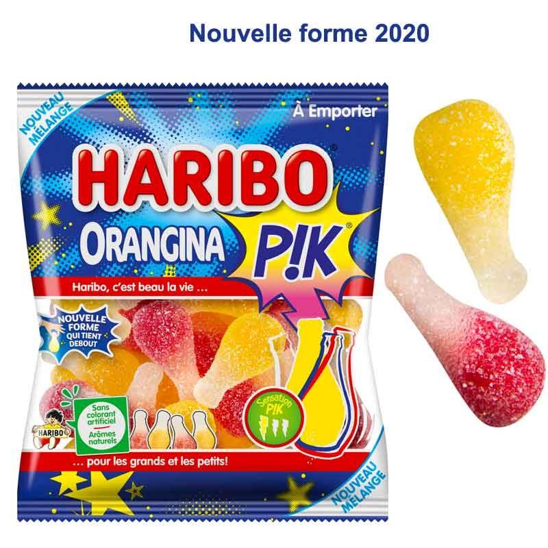 Orangina Haribo 120gr, orangina pik 2020