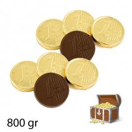 Pièces de monnaie chocolat 800 gr