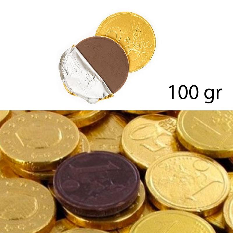 Pièces en chocolat 100gr