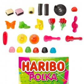 Polka Mélange bonbons Haribo