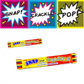SNAP and CRACKLE Fruits
