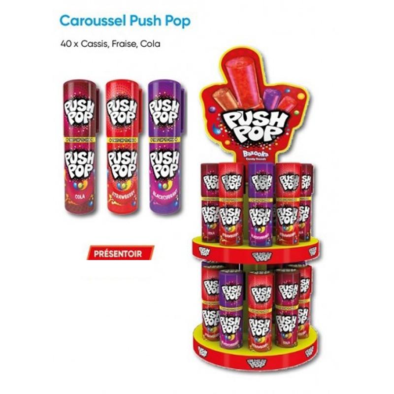 Sucette push pop