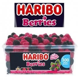 Berries Haribo, boîte de 300 pièces