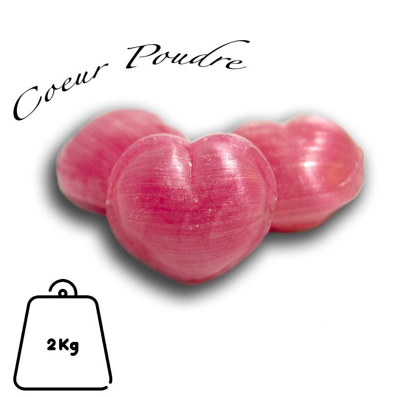 Coeur poudre, sac de 2 Kg
