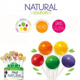 50 Sucettes natural Vidal