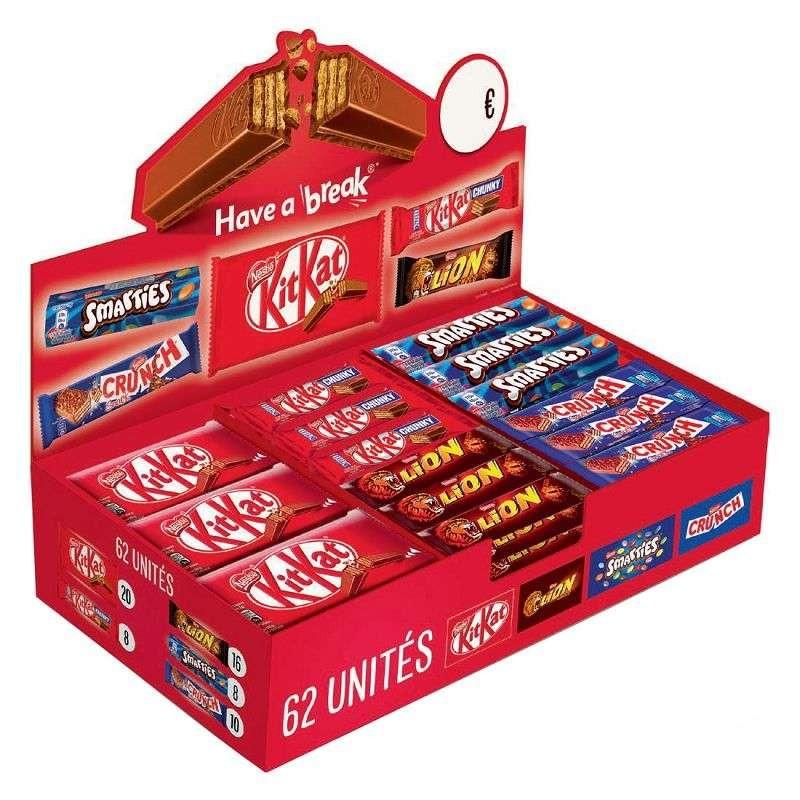 barre-chocolat-et-barre-chocolatee-aux-cereales;nestle-choco-box-nestle-62-barres