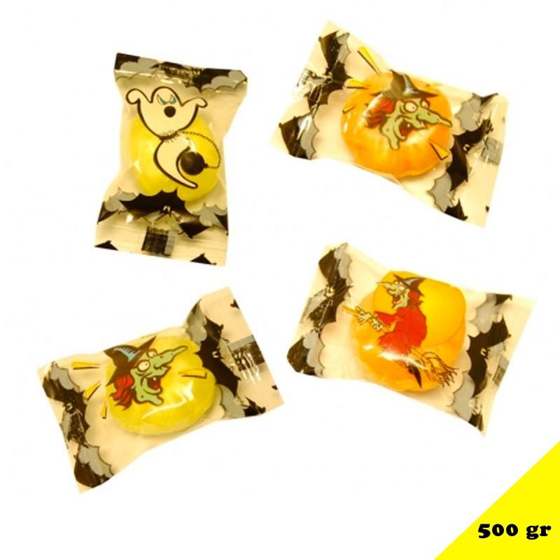 Citrouille poudre Halloween, sac de 500 gr