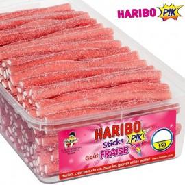 Sticks fraise pik Haribo