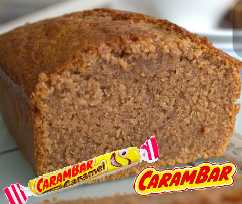 cake aux bonbons carambar caramel
